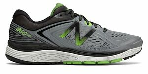 New-Balance-Men-039-s-860V8-Shoes-Grey-With-Green-amp-Black