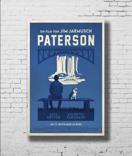 21 24x36in P-636 Art Paterson Movie Jim Jarmusch 2016 Movie LW-Canvas Poster