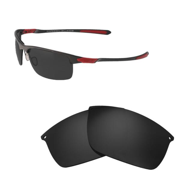 3438b342e7 Walleva Black Polarized Replacement Lenses For Oakley Carbon Blade  Sunglasses