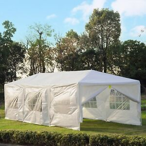 10x30ft-Gazebo-Canopy-Wedding-Party-Tent-Portable-Patio-w-8-Removable-Walls