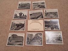 VINTAGE SNAPS OF GOTEBORG ~ 10 Fotografiska Vyer ~ SMALL B+W Old Vintage Photos