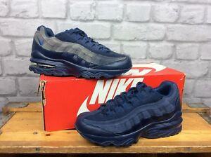 c206a68ccbd NIKE UK 4 EU 36.5 AIR MAX 95 BLUE TRAINERS CHILDREN GIRLS BOYS ...