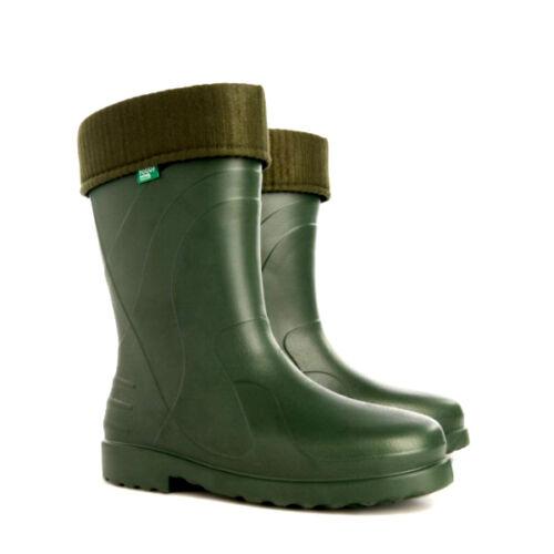 Eva botas de goma ligera forradas thermostiefel lluvia botas botas de invierno 39