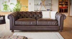 Avoir Un Esprit De Recherche Design Chesterfield Sofagarnitur 3 Places Canapé Cuir Canapé Coussin Sofas Canapé-afficher Le Titre D'origine
