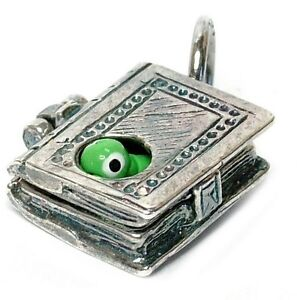 VINTAGE-SILVER-OPENING-BOOKWORM-CHARM