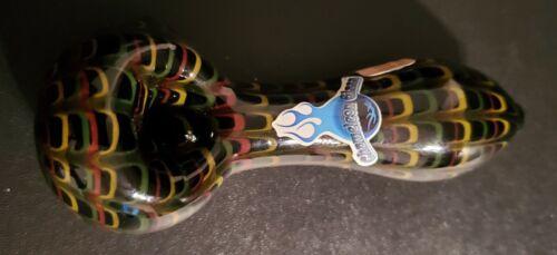 CHAMELEON HAND BLOWN GLASS TOBACCO PIPE