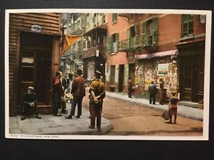 99ce8230078ff Antique POSTCARD 1907-20 Pell Street In Chinatown NEW YORK NY (19970 ...