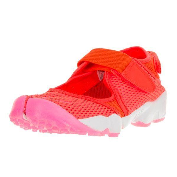 Nike Nike Nike Air grieta cortos Trainers naranja rosado Woman 848386 800 tamaño 36,5 - 39  apresurado a ver