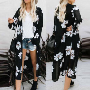 Women-Loose-Blouse-Summer-Boho-Chiffon-Coat-Shawl-Kimono-Cardigan-Cover-Tops