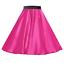 Girls-SATIN-Rock-n-Roll-Skirt-UK-1950s-Costume-Grease-Fancy-dress-ROCKABILLY thumbnail 16