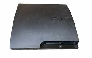 Sony PlayStation 3 PS3 Slim CECH-3001A Console Only as is for parts or repair