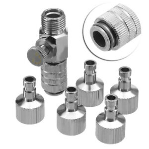 Airbrush-Quick-Release-Coupling-Disconnect-Adapter-1-8-034-Plugs-Fitting-Part-USA