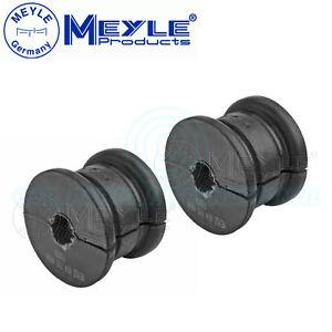 2x Meyle (Germany) Anti Roll Bar Bushes Rear Axle Left & Right No: 014 715 0000