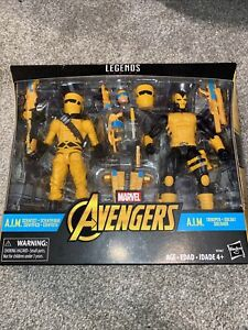 "Marvel Legends 6/"" Inch AIM Soldier 2-Pack AIM Trooper Loose Complete"