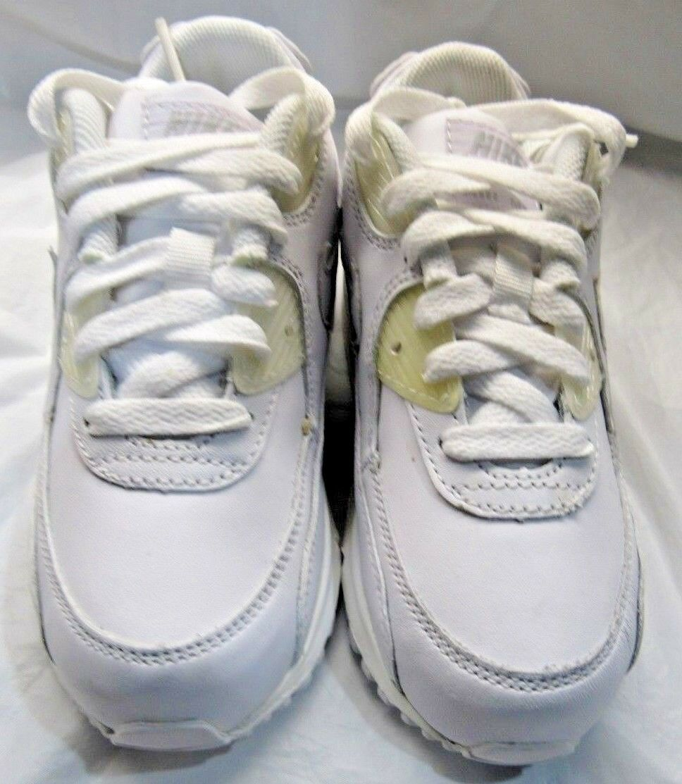 NIKE 307794-111 AIR MAX 90 Price reduction All White Sneakers Comfortable The most popular shoes for men and women