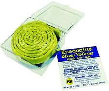 "Kneadatite Blue/Yellow Epoxy Putty Tape 36"" ""Green Stuff"", New Toys And Games"