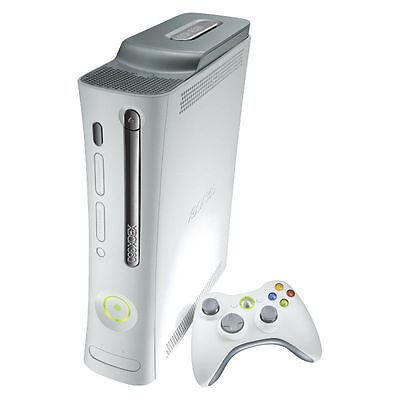 Microsoft Xbox 360 20 GB White Console Very Good Condition