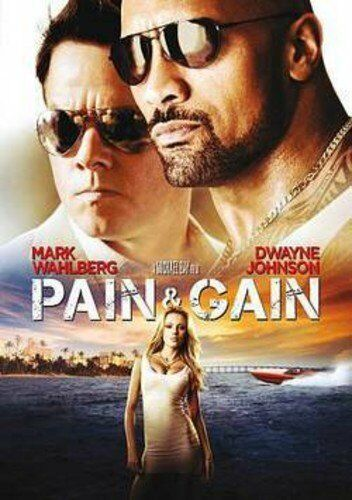 Pain & Gain (DVD, 2017) The Rock & Mark Wahlberg