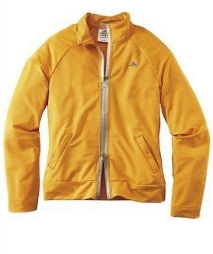 Adidas Climalite Giacca Nuova Gr.34-44 Arancione Sport Donna