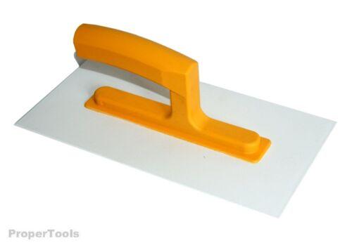 "Rendering Mineral Acrylic Plaster DIY Plastic Trowel 11"" ABS Float 3mm Texture"