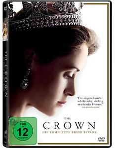 The-Crown-Die-komplette-erste-Season-4-DVDs-NEU-OVP-Biografische-Serie-erzaeh