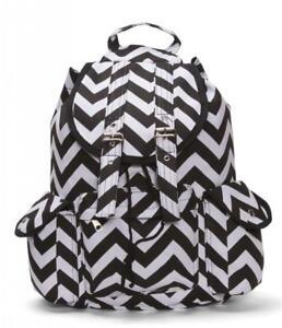 Chevron-Print-Rucksack-Style-Backpack