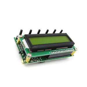 AD9850 6 bande di frequenza 0-55MHz LCD digitale di archiviazione dati Modulo Segnale Generatore di corrente continua 8V-9V