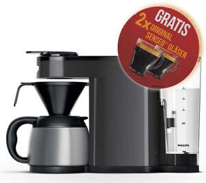 PHILIPS-Senseo-Switch-HD7892-29-grau-Pad-u-Filterkaffeemaschine-2-Glaeser-gratis