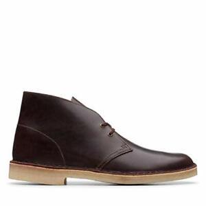 combinar Acción de gracias Involucrado  Clarks ORIGINALS Desert Boots Mens Chestnut Brown Leather - Size 8 UK & NEW  | eBay
