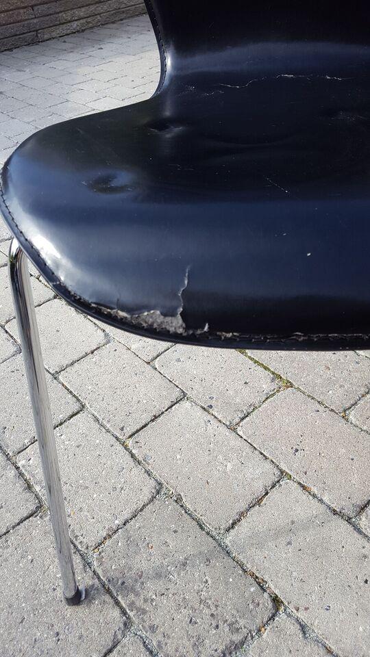 Spisebordsstol, Imiteret læder, Ilva