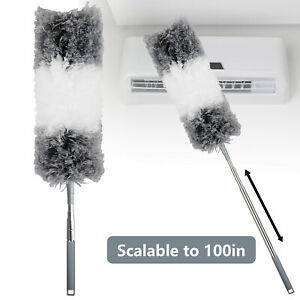 Adjustable-Soft-Microfiber-Feather-Duster-Dusting-Brush-Household-Cleaning-Tool