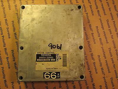 P//N 89661-52674 2001 Toyota Echo ECU ECM PCM Engine Computer Plug /& Play