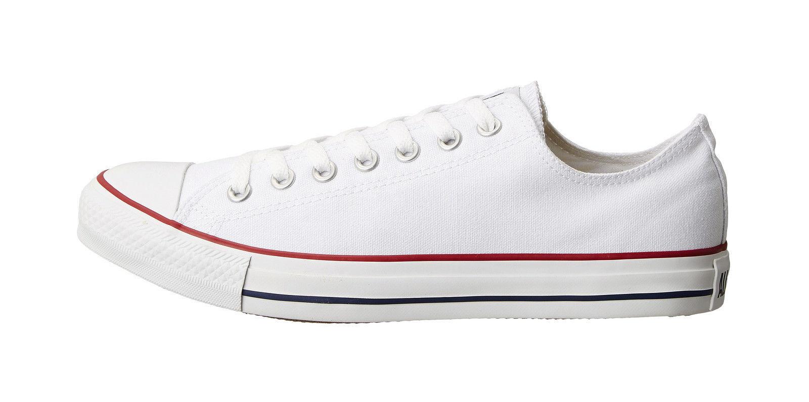Converse Women Shoes Classic Chuck Taylor Low Top Optical White Fashion CTAL