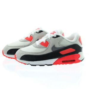 cheap for discount 9cc40 db3d5 Image is loading Nike-724884-100-Toddler-Child-Air-Max-90-