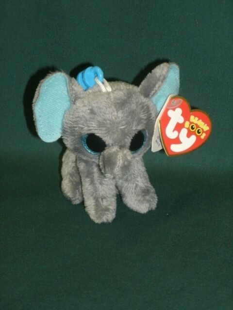 cf4329df398 Ty Beanie Boo Peanut The Elephant Key Clip for sale online