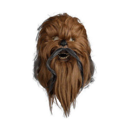 Cosplay Chewbacca Mask Star Wars Mask Collectors Rubber Mask Halloween Mask Prop