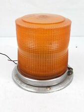 Vintage Whelen Model 800 1 Amber Beacon Signal Light Casting No 60227 Made Usa