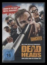 DVD DEAD HEADS (Deadheads) UNCUT- SHAUN OF THE DEAD meets HANGOVER ZOMBIE-COMEDY