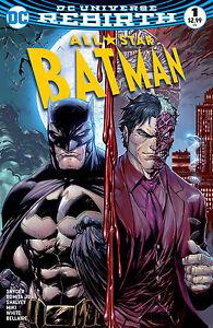 All-Star Batman #1 Midtown Exclusive Kirkham Color Variant Cover. NM DC Rebirth