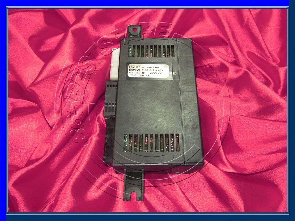 BMW E39 E38 5 7/'ies LCM3 LIGHTING CONTROL LCM 3 MODULE Check-Controlmodul LCMIII