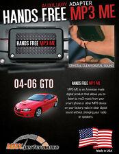 2004-2006 Pontiac GTO MP3 ME Radio AUX Adapter Player iPhone iPod Mod 04-06