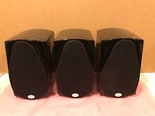 NHT C1 Bookshelf Gloss Black Speaker Loudspeaker