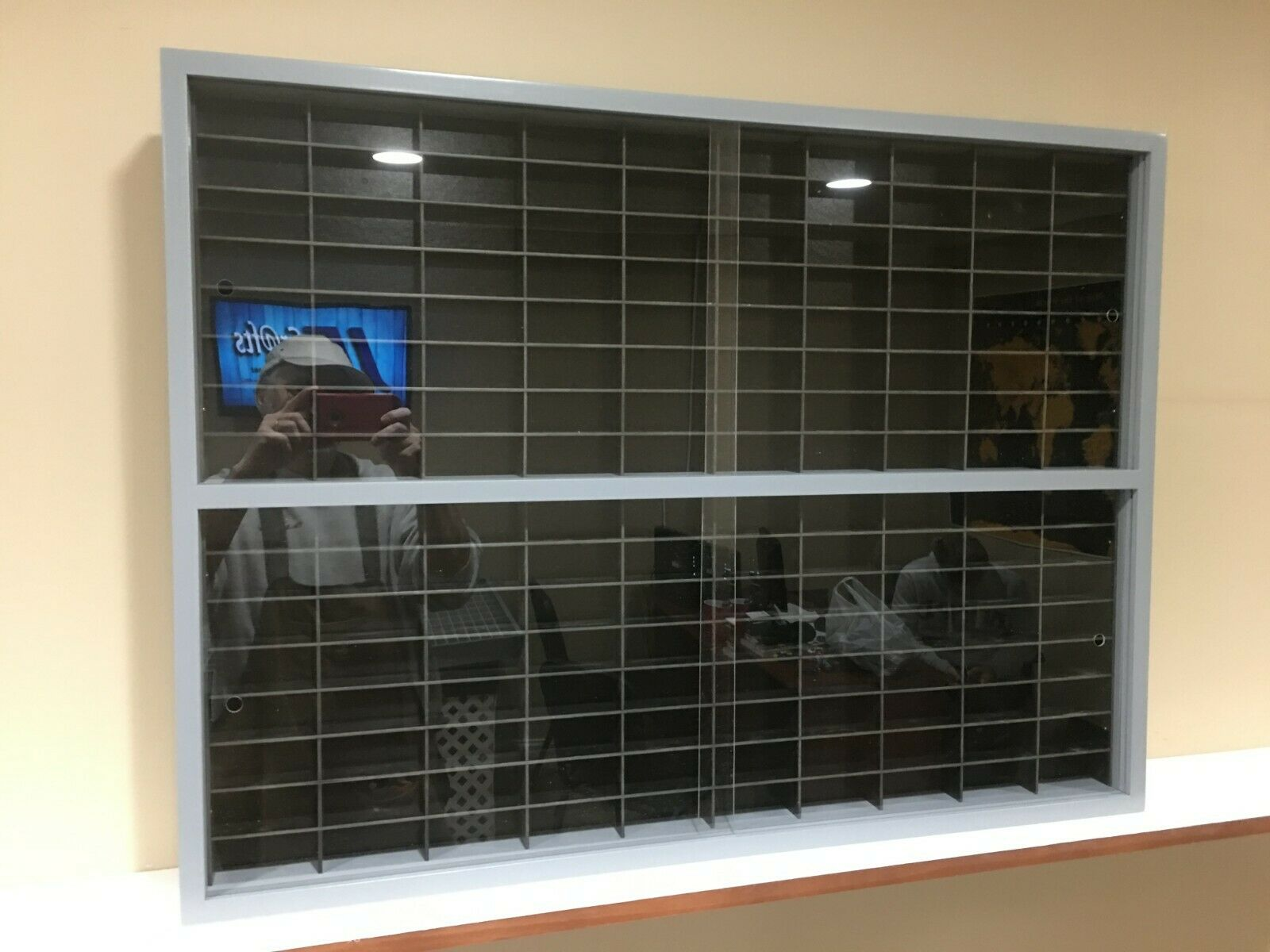 Display case cabinet for 1 64 diecast scale cars (hot wheels, matchbox) 160NGB-5