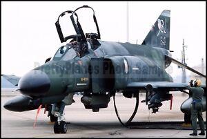 USAF-F-4-Phantom-II-4th-TFW-from-Seymour-Johnson-AFB-1987-8x12-Photo