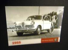 ALFA ROMEO GIULIETTA - 3D IN PROMOZIONE PHOTOCARD (1955/2010)