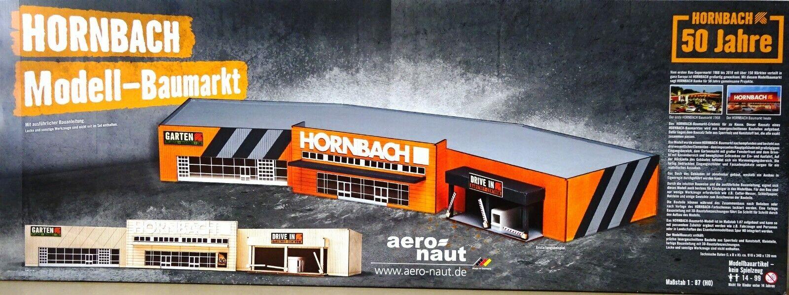 Hornbach Model-Baumarkt 1 87 H0 Limitiert Modelbausatz aero-naut 50 Jahre