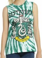 Harry Potter Slytherin Tie Dye Muscle Tank Top Warner Brothers Free Ship
