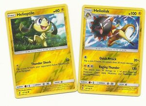 Rare Heliolisk Helioptile 2 Pokemon Cards Guardians Rising Rev Holo Mint Ebay 8 go battle league team builds: details about rare heliolisk helioptile 2 pokemon cards guardians rising rev holo mint