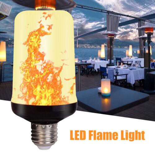 85-265V E27 LED Licht Fackel Feuer Lampe Flammen Effekt Glühbirne Flacker Birne