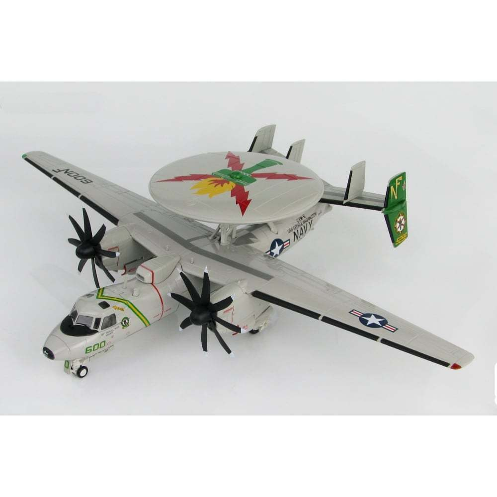 HOBBY Master HA4809 1 72 E-2C Hawkeye US Navy VAW-115 USS George Washington 2010